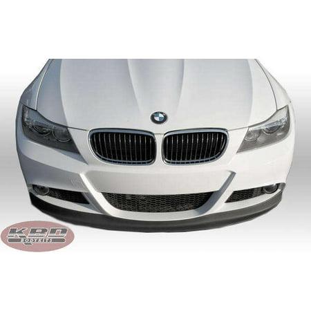 BMW 3 Series Sedan (E90) 2009-2011 VKM Style 1 Piece Polyurethane Front Lip 2007 Bmw 5 Series Sedan