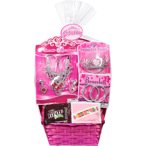 Princess Easter Basket with Toys and Assorted Candies