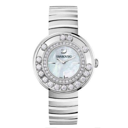 Lovely Crystals - White Metal Ladies Watch 1160307 Swarovski Crystal Heart Watch