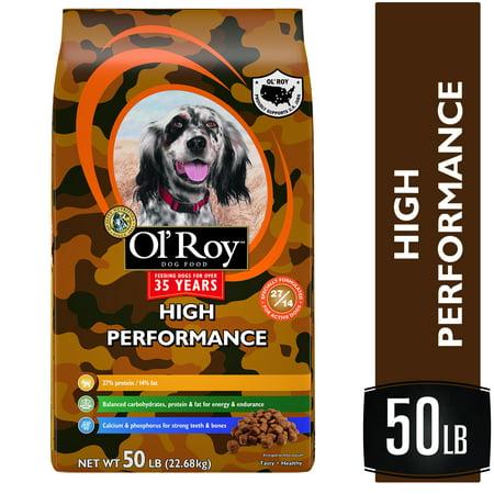 Ol' Roy High Performance Dry Dog Food, 50 lb