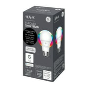 GE LED 9.5W (60W Equivalent) C by GE Smart Home All Color Light Bulb, E26 Medium Base, Dimmable, 13 Year, 1pk