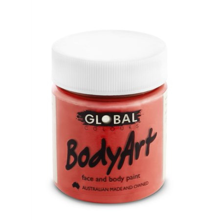Global Body Art Face Paint - Liquid Brilliant Red (45 ml/1.5 oz)](Simple Face Paint Designs For Halloween)