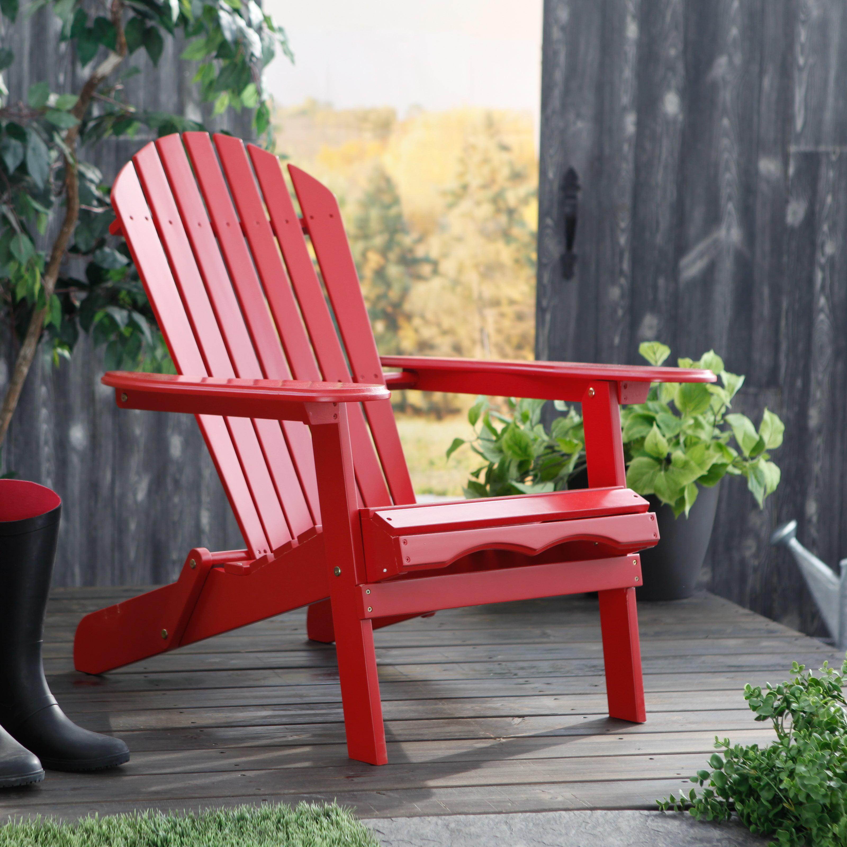 Cape Cod Foldable Adirondack Chair Walmart
