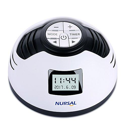 White Noise Machine, NURSAL Sleep Sound Machine with 8 So...