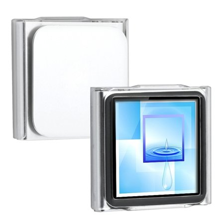 2 Packs Insten Snap-on Crystal Case For Apple iPod nano 6th Gen, Clear