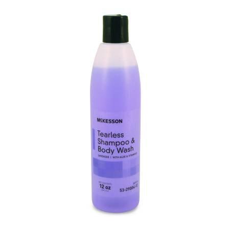 - McKesson Performance Plus Tearless Hair/Body Shampoo Lavender 12 Ounce - Model 53-29004-12