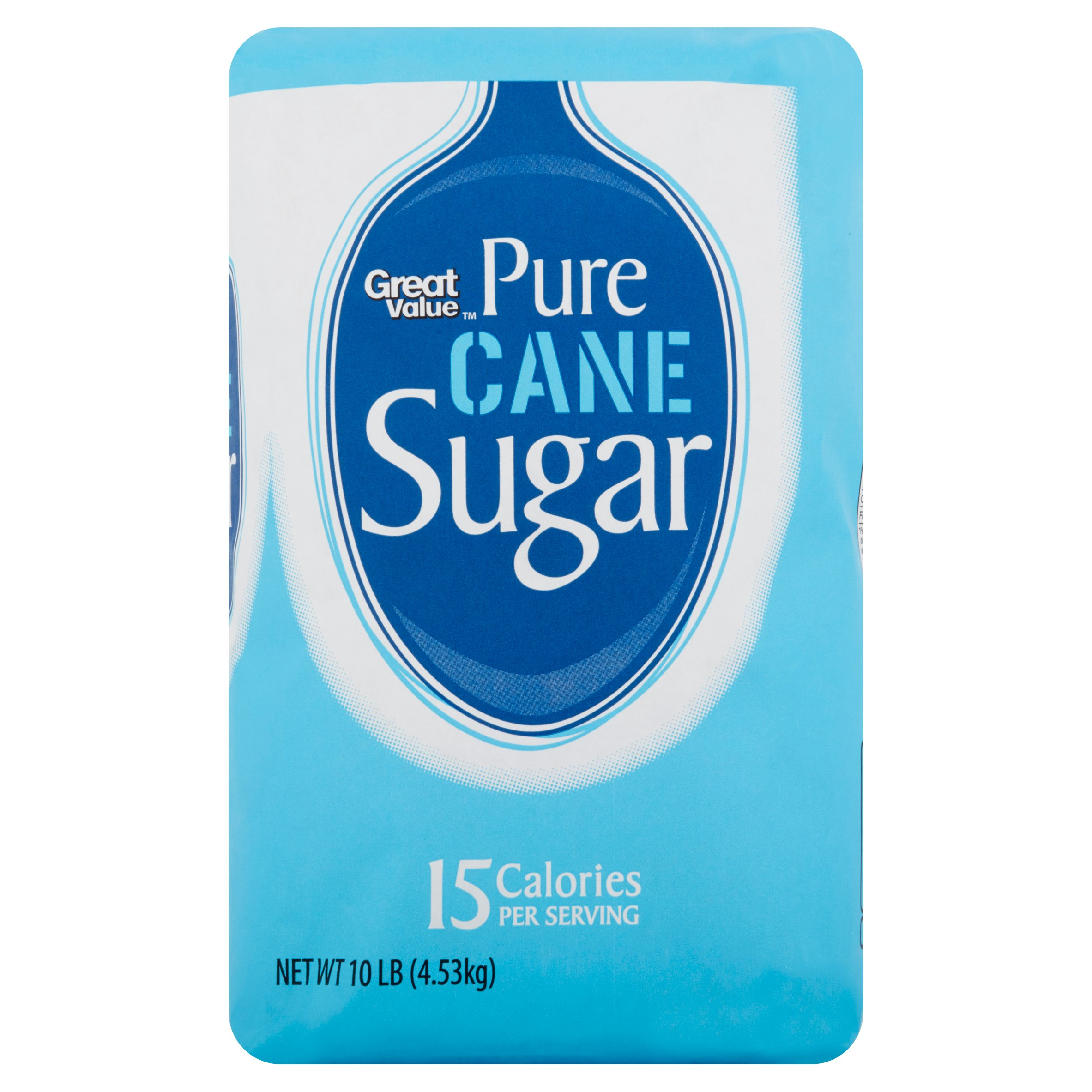 Great Value Pure Cane Sugar, 10 lb by Wal-Mart Stores, Inc.