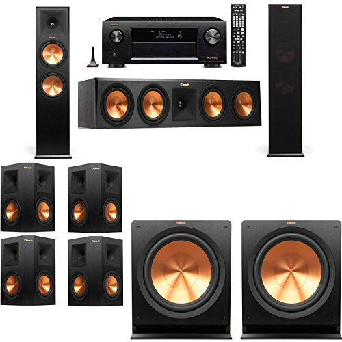 Klipsch RP-280F Tower Speakers-7.2-Denon AVR-X4100W by Klipsch