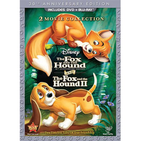 The Fox And The Hound / The Fox And The Hound II (30th Anniversary Edition) (Blu-ray + (The Fox And The Hound 2 Trailer)