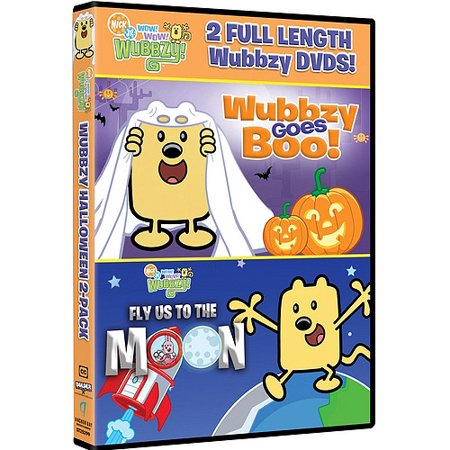 Wow  Wow  Wubbzy  Halloween 2 Pack  Wubbzy Goes Boo   Fly Us To The Moon
