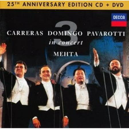 Three Tenors 25th Anniversary (CD) (Includes DVD)