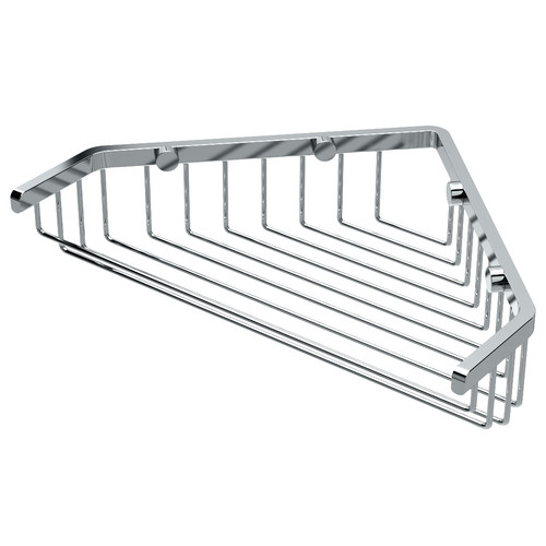 Gatco Corner Shower Shelf in Chrome