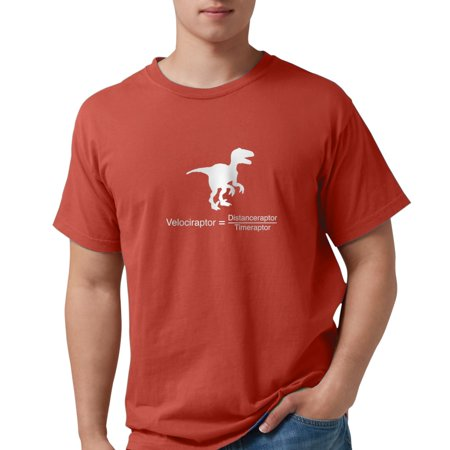 2ec4784b44f8 CafePress - CafePress - Velociraptor Funny Science T-Shirt - Mens Comfort  Colors® Shirt - Walmart.com