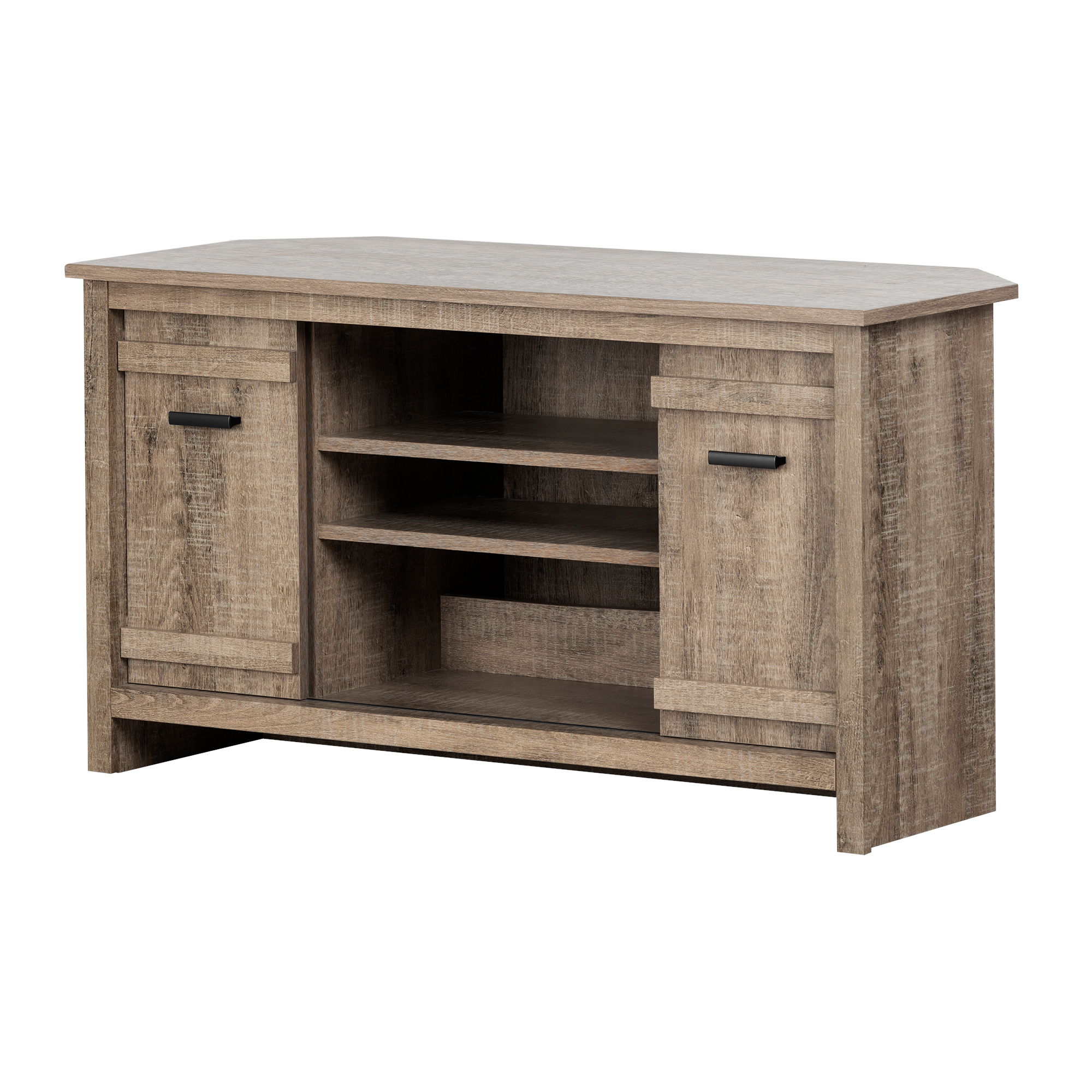 South Shore Exhibit Corner TV Stand, for TVs up to 42'', Multiple Finishes