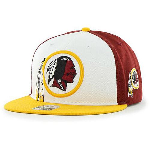 NFL Men's Redskins Flat Cap