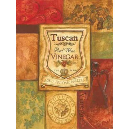 Tuscan Vinegar Rolled Canvas Art - Gregory Gorham (9 x 12)