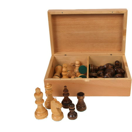 Classic Games Collection Staunton Wood Chessmen