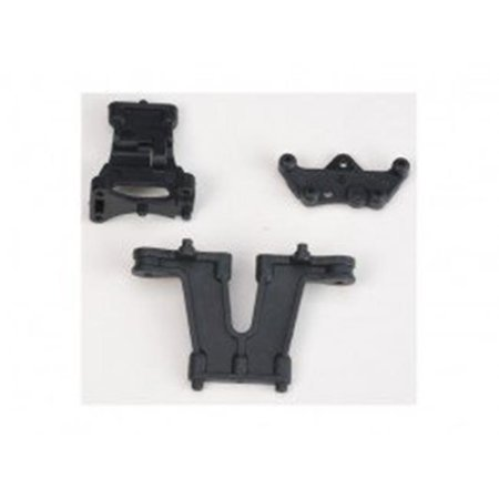 DHK Hobby DHK8382-004 Front & Rear Upper Deck Mount - Maximus Deck Rear Bag Front Propelled