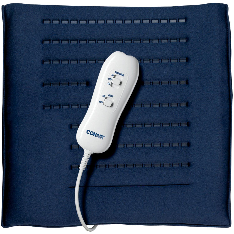 Conair Thermaluxe Massaging Heating Pad, HP08T