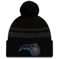 Orlando Magic New Era Cuffed Knit Hat with Pom - Black - OSFA