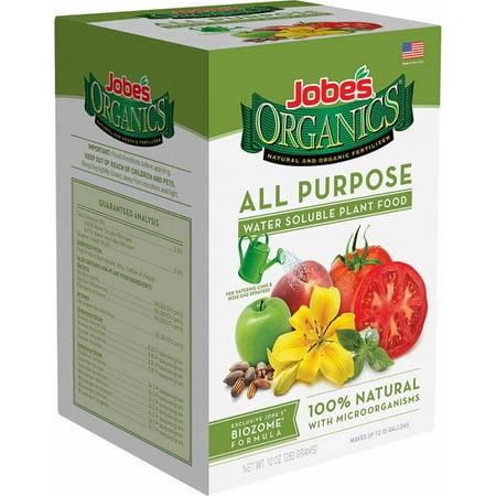 Jobe's Organics 10oz.Water-Soluble All Purpose Plant - Water Soluble All Purpose Plant