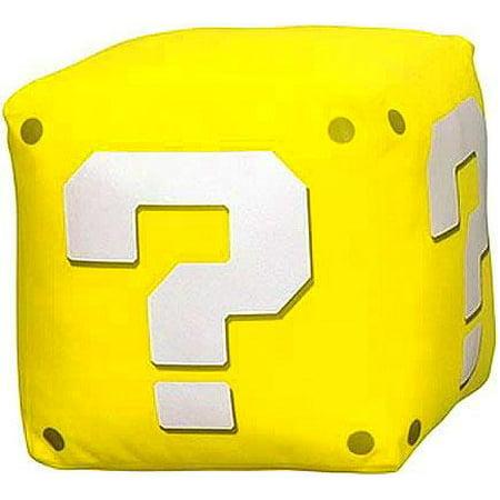 New Super Mario Bros Wii Mystery Block Plush
