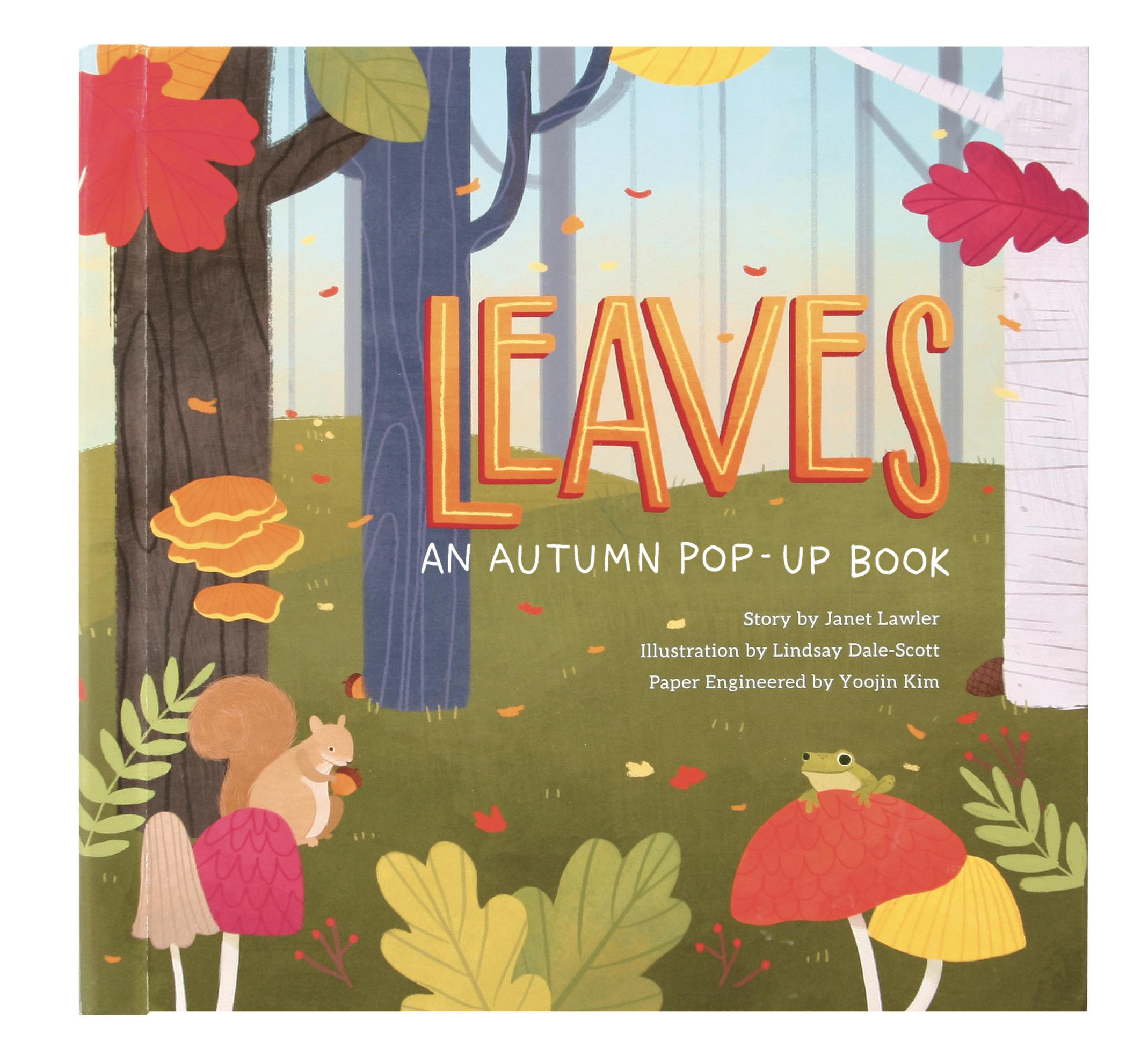 Leaves: An Autumn Pop-Up Book (Hardcover)