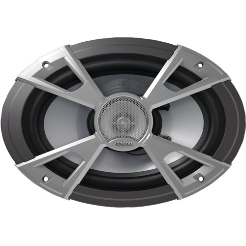 """Clarion Cmq6922r 6"""" x 9"""" Marine 2-Way Coaxial Speakers"""
