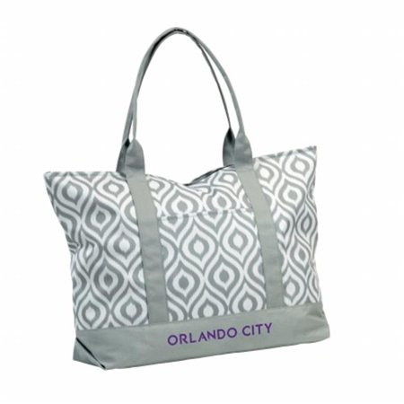 Orlando City Soccer Club Ikat Tote - Party City In Orlando Fl