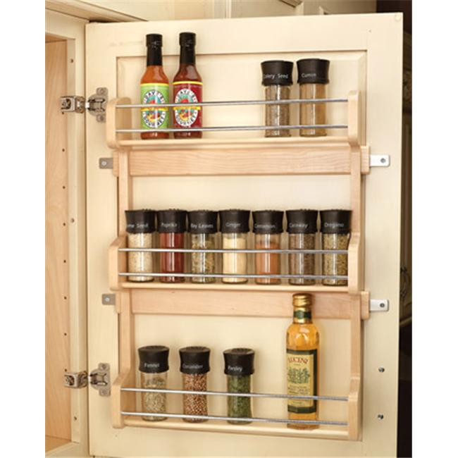 Rev-A-Shelf RS4SR.21 15.63 in. Door Mount Spice Rack
