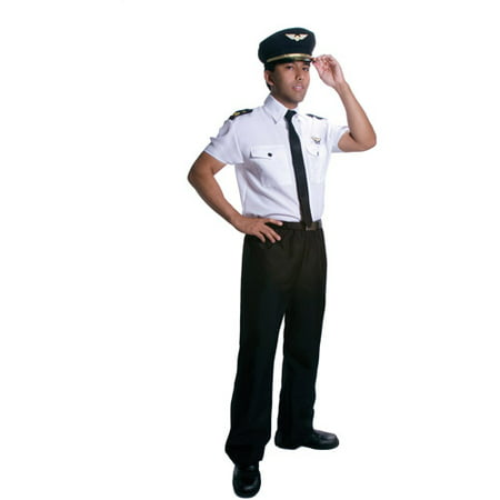 Pilot Adult Halloween Costume - Womens Pilot Costume
