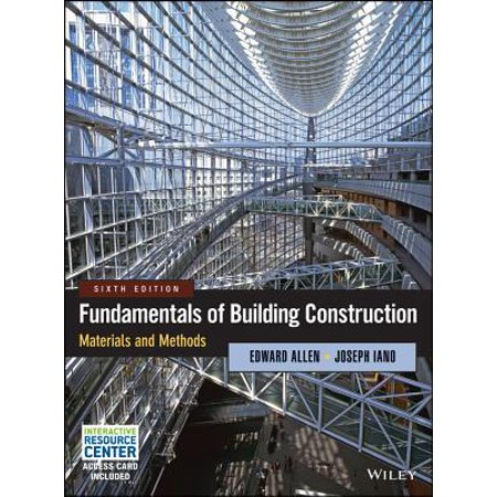 Architect Drawing (Fundamentals of Building Construction : Materials and)