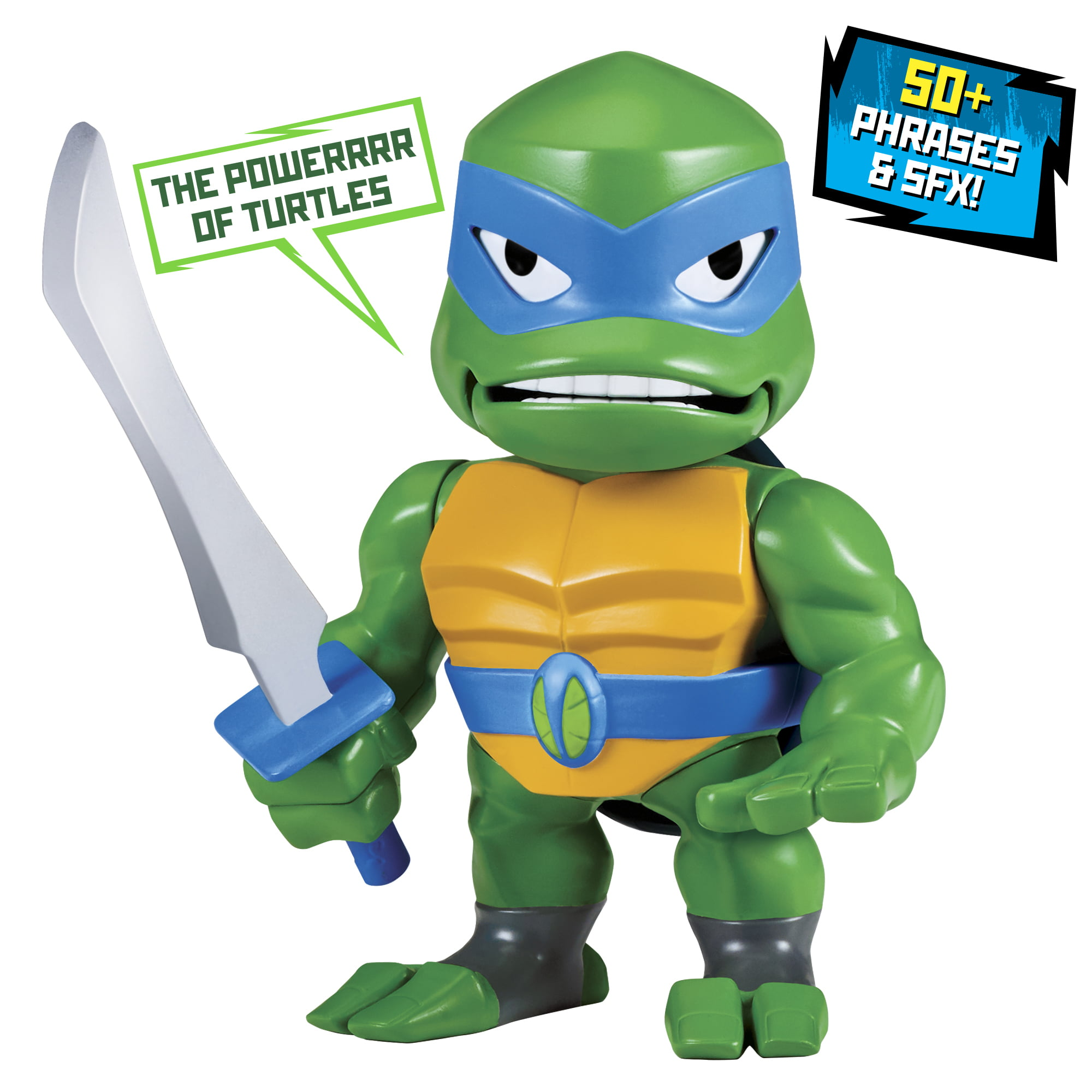 Rise Of The Teenage Mutant Ninja Turtles Leonardo Babble Head Figure Walmart Com Walmart Com