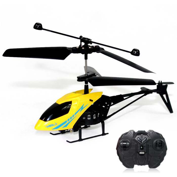 Mini RC Helicopter Shatter Resistant 2.5CH Flight Toys with Gyro System