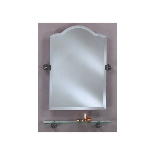 Afina Radiance Scallop Top Tilt Mirror