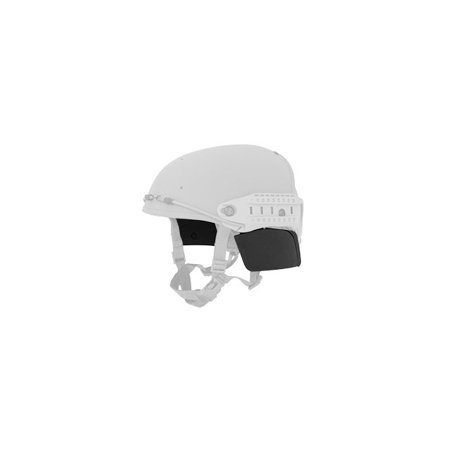 Lancer Tactical CP Helmet QR Side Covers ( Black ) Helmet Side Covers