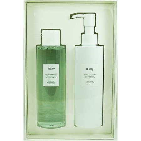 [ Huxley ] Cleansing Duo (Cleansing Water 200ml + Cleansing Gel -
