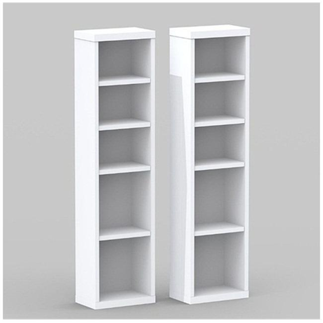 Nexera 211003 2 Liber-T CD-DVD Storage Towers
