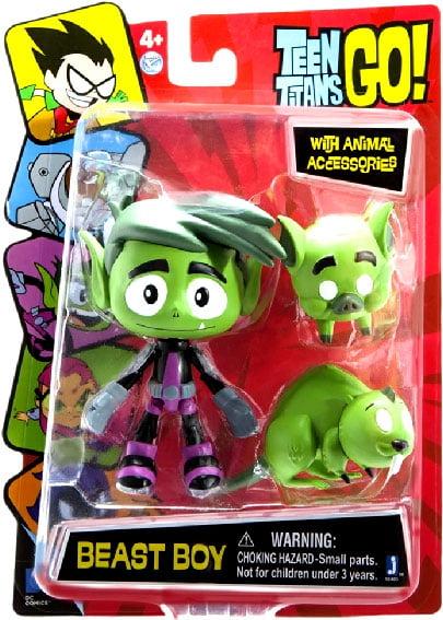 "Teen Titans Go! 5"" Beast Boy Action Figure by Jazwares"