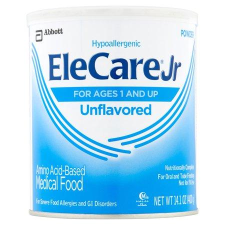 Elecare Jr Unflavored Canned Powder Medical Food  14 1 Oz   Pack Of 6