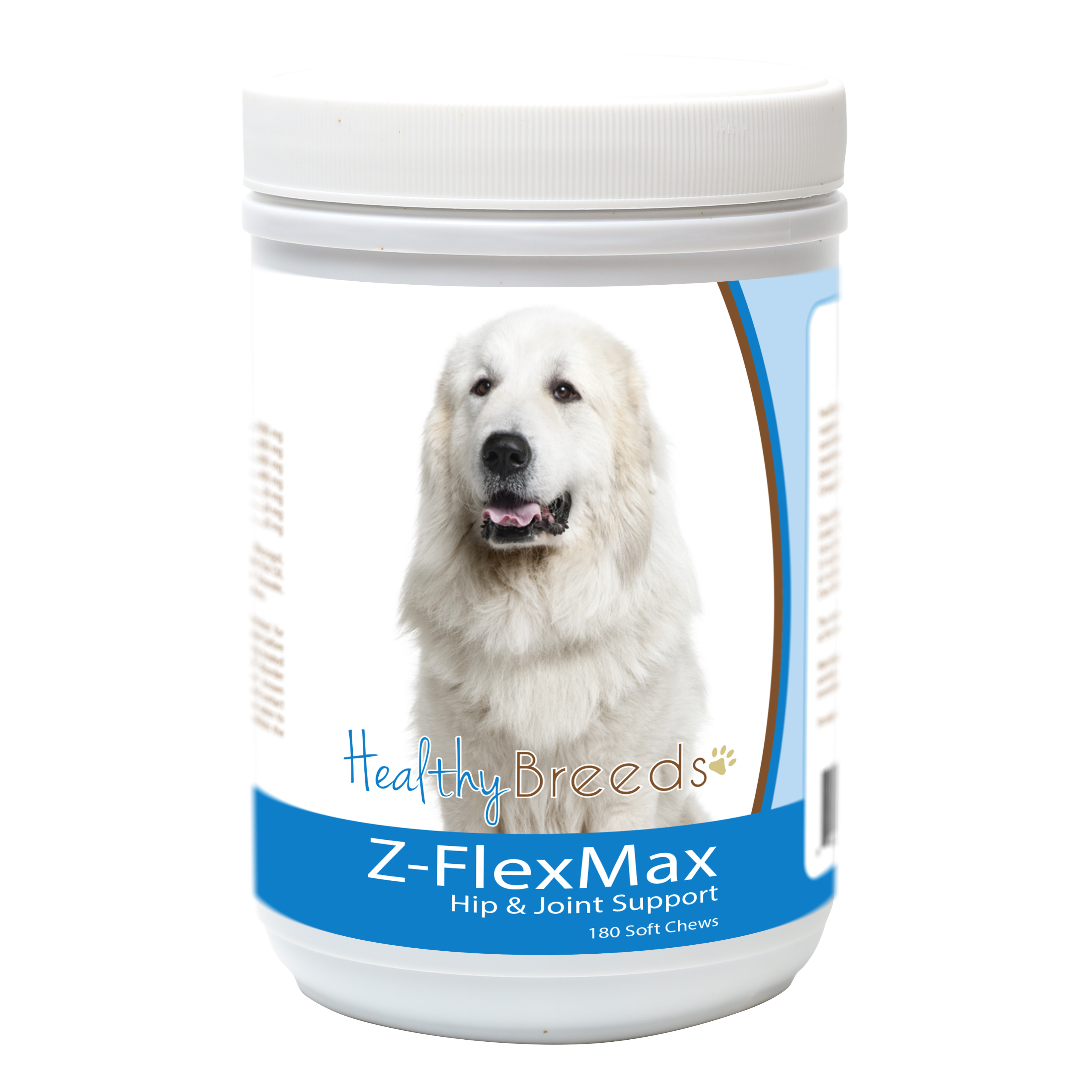Healthy Breeds Great Pyrenees Z-Flex Max Dog Hip and Joint Support 180 Count