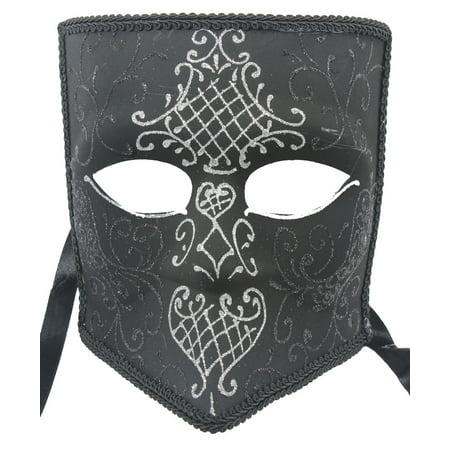 Purple Venetian Mask (GOTHIC VENETIAN MASK - Sparkling Design -)