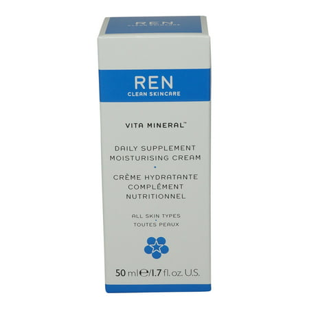REN Skincare Vita Mineral Daily Supplement Moisturising Cream-1.7