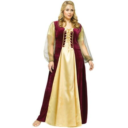 Juliet Plus Size Costume - Juliet Capulet Costume