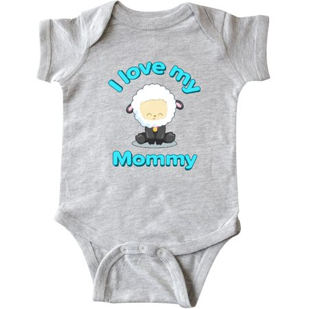 Inktastic I Love My Mommy Cute Lamb For Mothers Day Infant Creeper Kids Little
