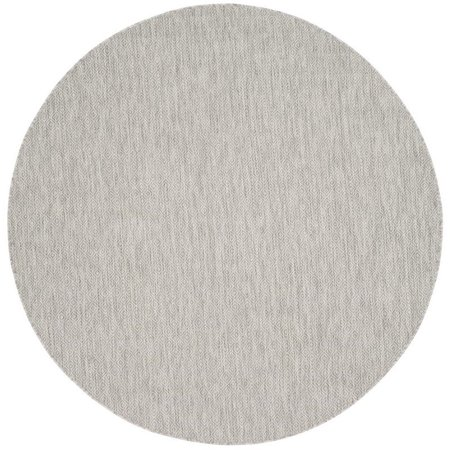 "Safavieh Courtyard 2'3"" X 12' Power Loomed Rug in Gray and Gray - image 1 of 4"