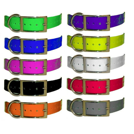 1 Inch Universal Strap - Red - E-collar or GPS Collar Replacement Strap 1' E-collar Replacement Strap