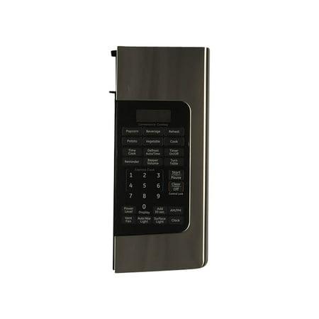 WB07X11281 GE Microwave Control Panel Asm Ss