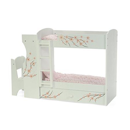 Fantastic Fits American Girl Doll Bunk Bed Desk Combo 18 Inch Dolls Furniture Home Interior And Landscaping Ologienasavecom