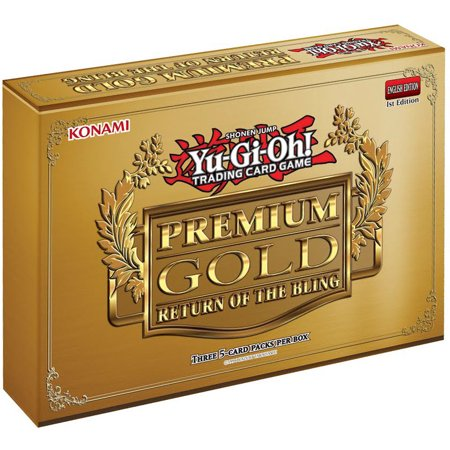 Yu-Gi-Oh Premium Gold: Return of the Bling Mini Box [3 Mini